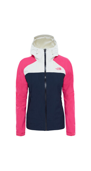 The North Face Stratos Jas roze/blauw
